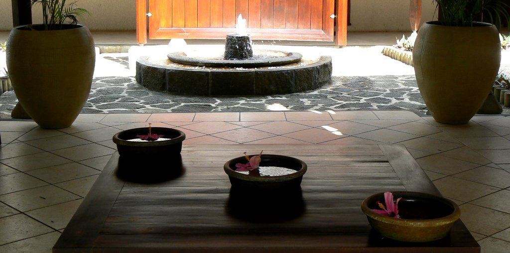 Spa at the Legends resort in Mauritius - photo by E. Jurus