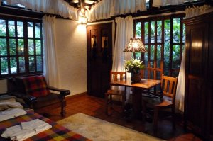 The extremely comfortable bedrooms at the Inkaterra