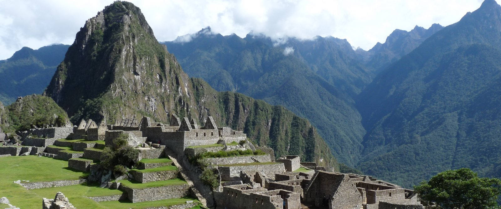 The setting of Machu Picchu is spectacular