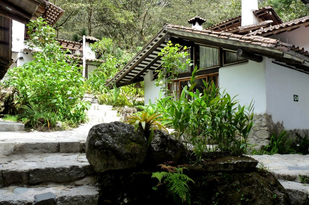 Bungalows at the Inkaterra Machu Picchu Pueblo Hotel