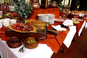Breakfasts and dinners are included, and the food is terrific. The breakfast buffet alone is worth getting up early for!
