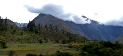 View from the train to Aguas Calientes, Peru - photo by E. Jurus 2012