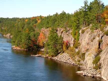 French River, October 2013 - photo by E Jurus