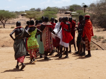 Traditional Samburu dances - photo by E Jurus