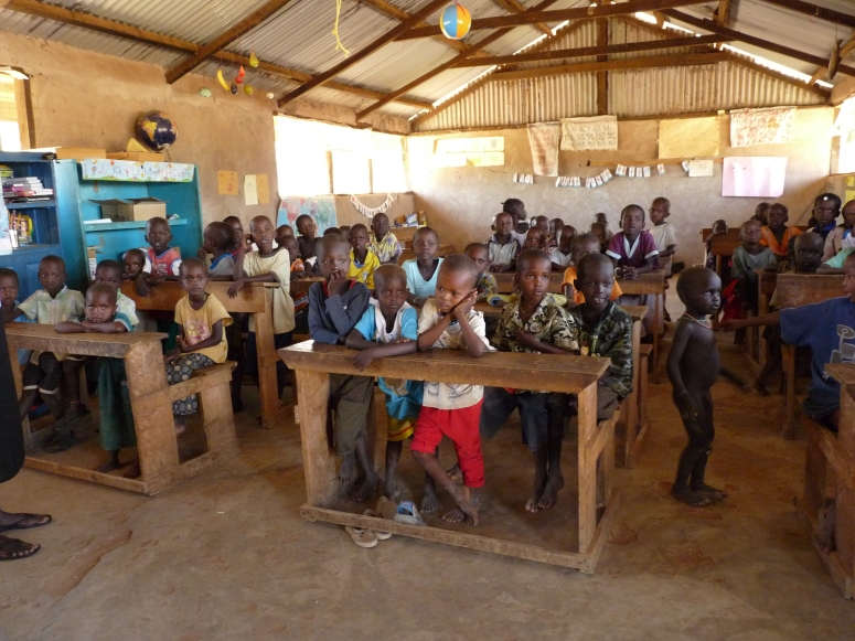 The new Samburu village school - photo by E Jurus