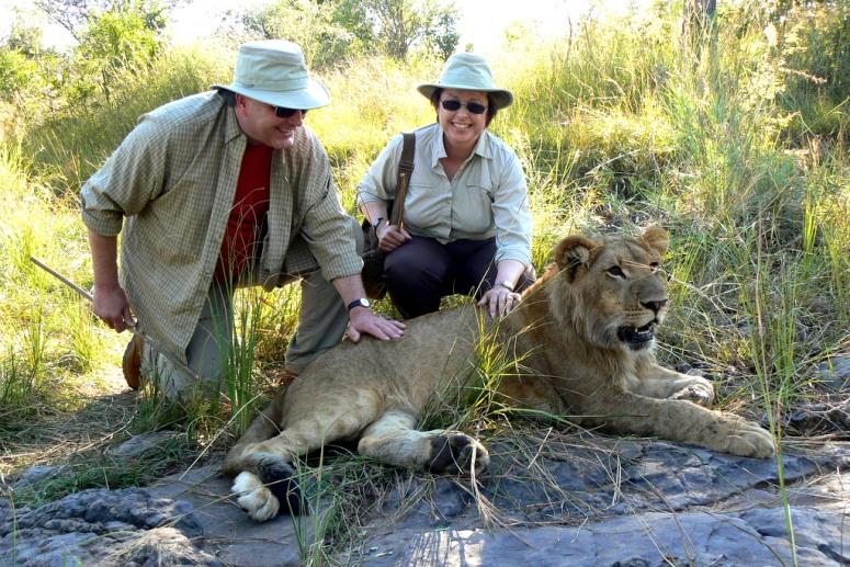 botswana safari 2007 card no 4 304